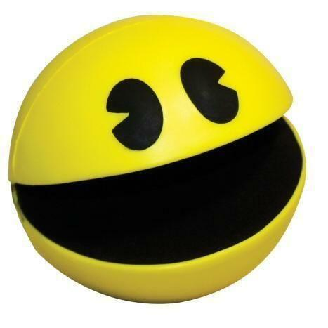 Pac Man Stress Ball EBay