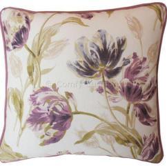 Duck Blind Chair Diy Lounge Laura Ashley Gosford Plum Cushions | Ebay