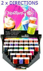 2 x pots la riche directions semi permanent hair color dye choose two same color ebay