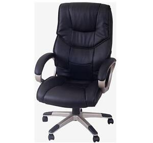 swivel office chair with wheels where to buy a bungee ebay black