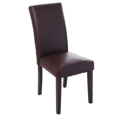 leather dining room chairs power lift chair recliner ebay