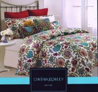Cynthia Rowley Queen Comforter Set | eBay