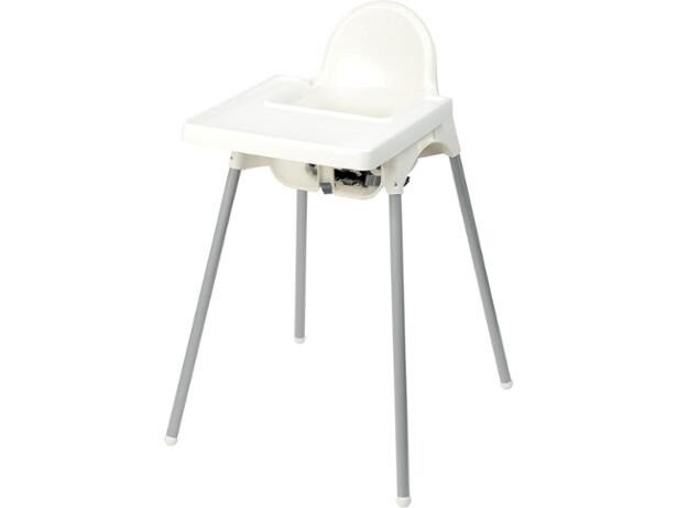 ikea high chair fisher price table antilop with tray highchair in