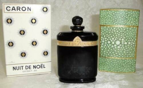 Rare Vintage 1oz. Caron Nuit De Noel EXTRAIT 30 Sealed Perfume With Original Box