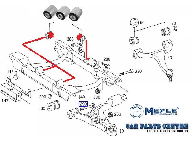 Mercedes Benz Transmission Linkage Diagram