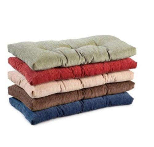 Red Bench Cushion  eBay