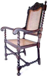 antique cane chairs fisher price portable high chair ebay dining