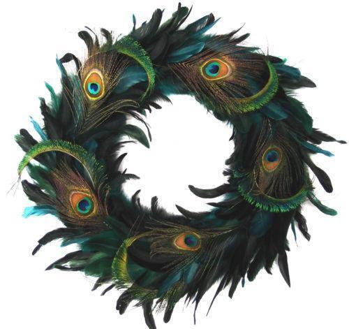 Peacock Wreath EBay