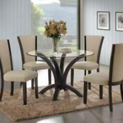 Round Glass Kitchen Table Kids Wooden Dining Buy And Sell Furniture In Toronto Gta Canada Me912