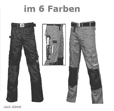 Arbeitshose Sicherheits Schutz mit Kniepolstertaschen für Handwerker