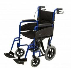 Wheelchair Express Fishing Chair Feeder Rest Dash Attendant Propelled Ultra Lightweight Easy Fold Excellent Condition