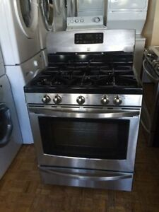 scratch dent kitchen appliances unfinished base cabinets get a great deal on stove or oven range in ontario ...