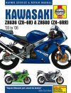 KAWASAKI NINJA ZX636,ZX-6R,XZ600,ZX-6RR REPAIR SERVICE SHOP MANUAL BOOK,M4742