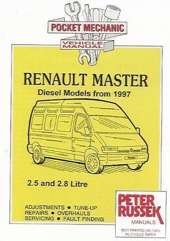 Renault Master Workshop Manual | eBay