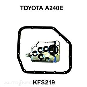 Auto Transmission Filter Kit TOYOTA COROLLA 7AFE 4 Cyl EFI