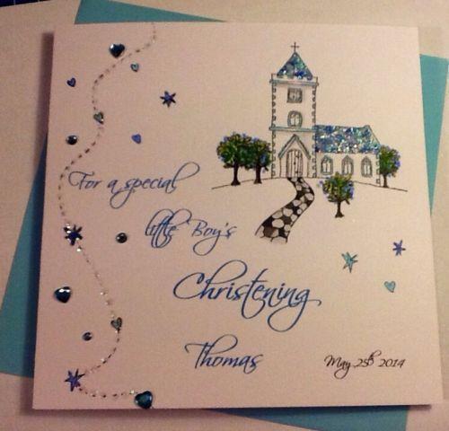 Handmade Christening Cards EBay