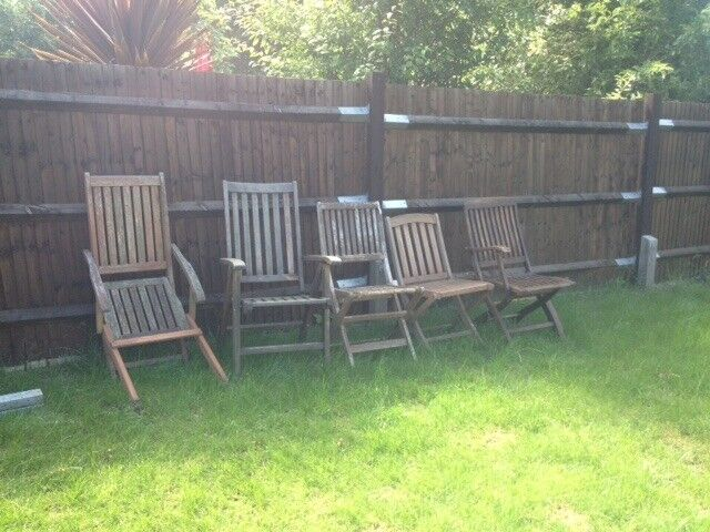 repair garden chairs hip replacement chair joblot of folding for spares or in