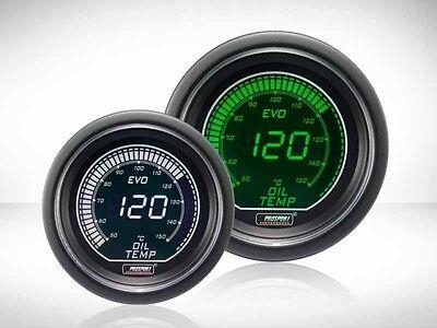 Prosport Öltemperatur Anzeige Grün/ Weiss EVO Series 52mm Grün-Weiß