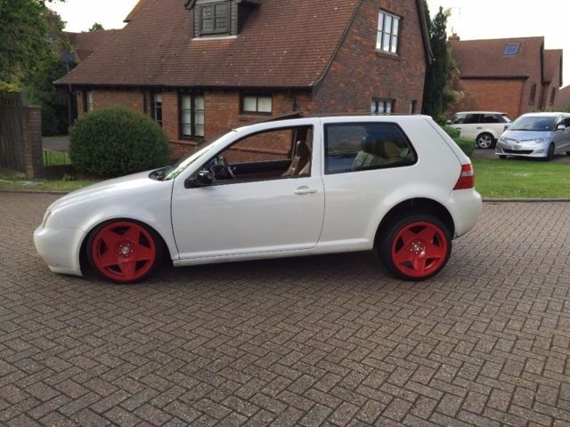 Show Car Golf Gti Vw Golf Mk4 Air Ride Dubbed Slammed