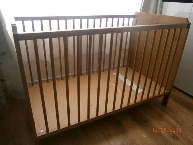 Ikea Leksvik Cot Bed