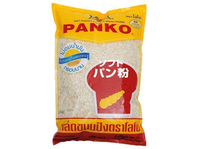 Lobo Panko Paniermehl 1000g 1Kg Panade Tempura Japan Mehl Brotkrumen Panierung