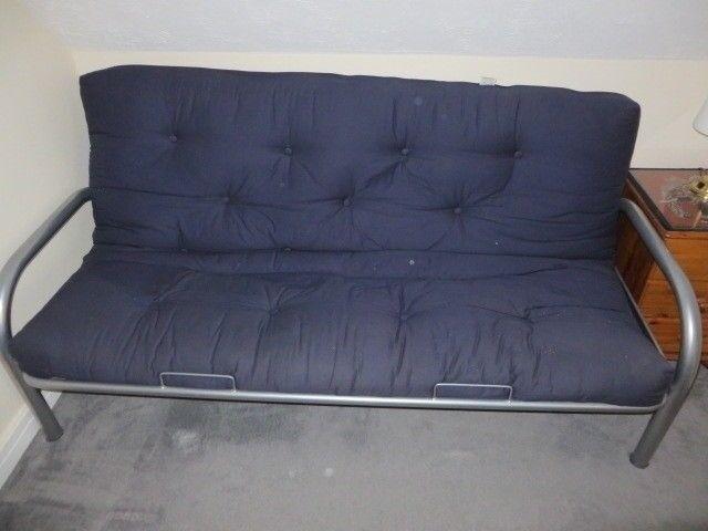 metal frame sofa bed art deco for sale in basingstoke hampshire gumtree
