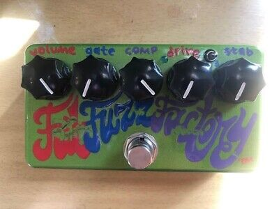 Zvex Fat Fuzz Factory hand-painted pedal