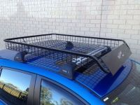 4WD STEEL ROOF RACK MESH BASKET