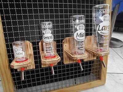 Halterung für Trinkflasche CLASSIC geflammt Nager,Maus,Hamster Meerschweinchen