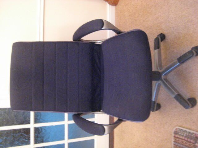 revolving chair gumtree gel cushions for chairs office high back swivel in kirkby ashfield