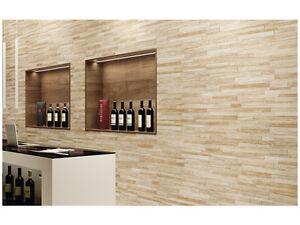 Piastrelle gres rivestimento parete muro interno esterno pietra Fiordo Arles  eBay