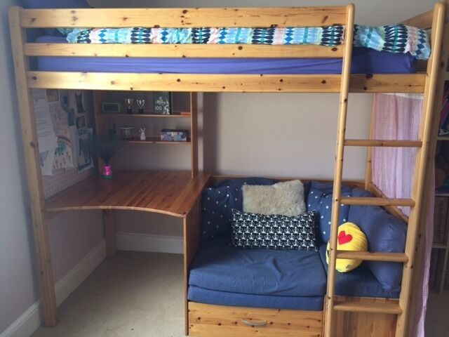 sofa sleeper for cabin top beds 2017 high bunk bed with and desk by thuka in