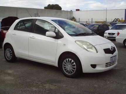 toyota yaris trd white oli grand new avanza 2006 hatchback hatch cars vans utes 5 speed manual
