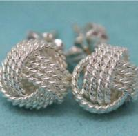 Tiffany Twist Knot Earrings
