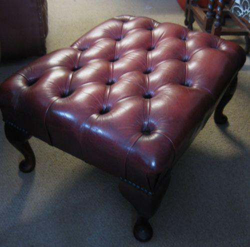 cheapest sofa deals uk leather corner images chesterfield stool | ebay