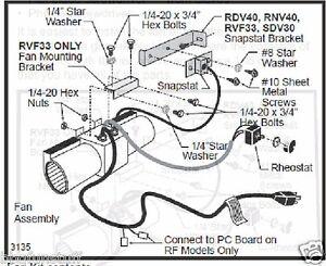 Majestic Stove Blower Fan Kit Factory OEM Kit FK26 2767