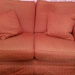 Sofa London Gumtree Couches And Sofas At Game Vintage Living Room Red Great Condition In Seven Sisters
