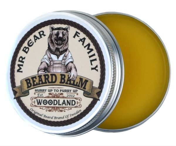 Mr. Bear Family Beard Balm Bartpomade 60ml Woodland