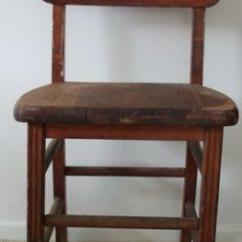 Antique Wood Chair White Chairs For Wedding Ebay