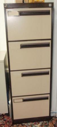 4 Draw Filing Cabinet | eBay