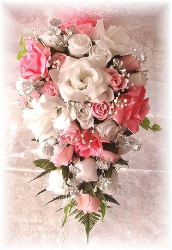 Pink Wedding Bouquet  eBay