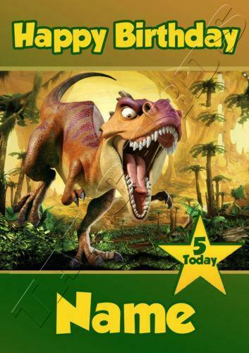 Dinosaur Birthday Card EBay