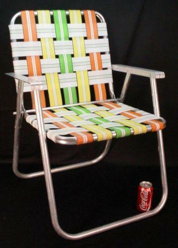 Vintage Folding Beach Chair  eBay