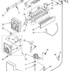 Kenmore 106 Refrigerator Parts Diagram Circuit Of Non Inverting Amplifier Whirlpool Ice Maker | Ebay