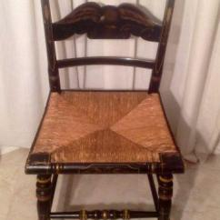 Cane Back Chairs Antique Cool For Teenage Rooms Chair Rush Seat | Ebay