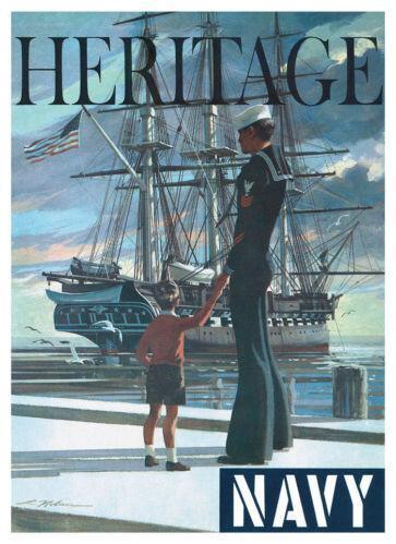 US Navy Recruiting Poster EBay