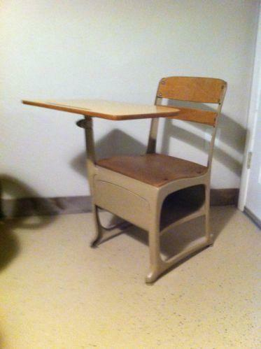 Antique School Desk For Sale