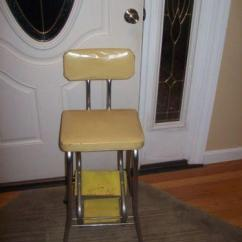 Cosco Kitchen Stool Chair Round Dining Table And Chairs Vintage Step   Ebay