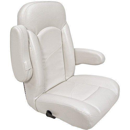 used captain chairs for boats bar stool chair rung protectors helm seat | ebay