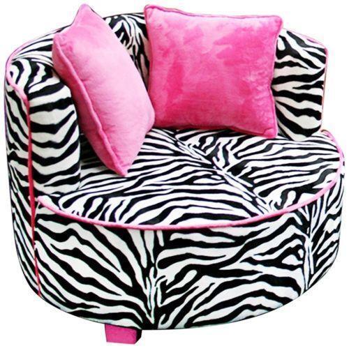 pink high heel chair beach layout chairs kids zebra | ebay